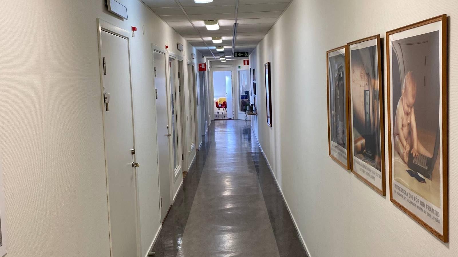 Brunnemyrsvägen korridor